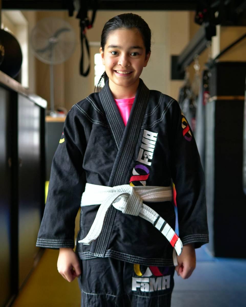 fama singapore kids martial arts girls brazilian jiu jitsu bjj self defence