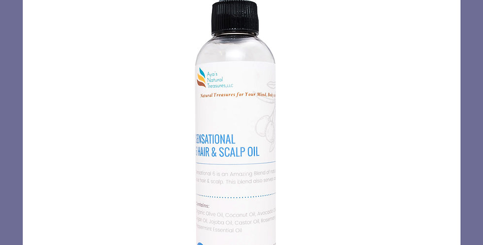 Sensational 6 Hair & Scalp Oil