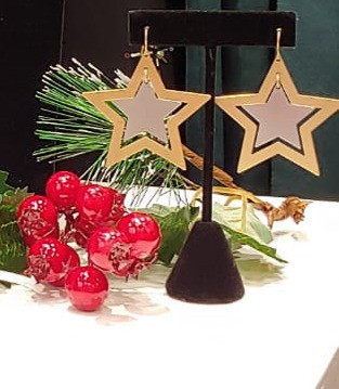 Bonita Bold star earrings