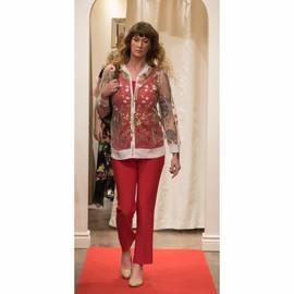 Bonita Bold_floral embroidered zip jacke