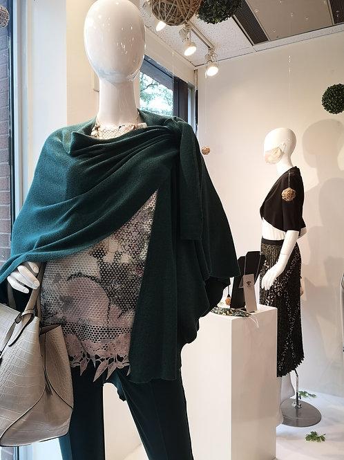 Knit Drape Multi-wear Cape