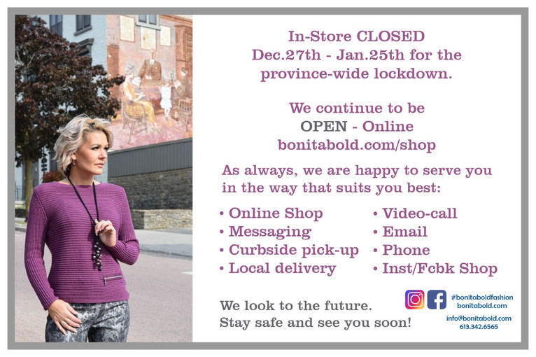 bonita bold second wave closure services