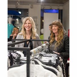 Bonita Bold_post-show_models smiling_in-