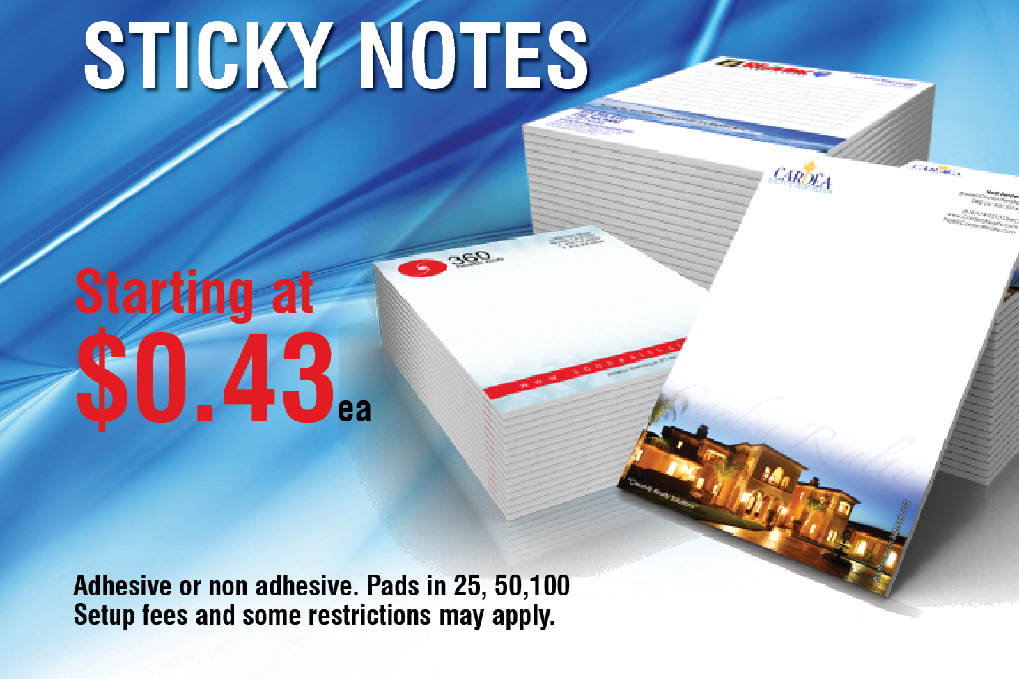 Promotional Product - Sticky Notes