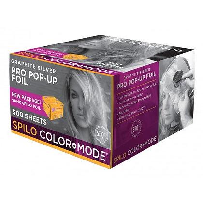 Graphite silver Pro pop-up foil