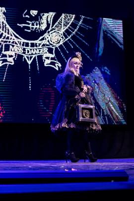 ph (с) Natalya Nikonorova  Miss Danger fashion show at Dragonfest, Samara, 2019