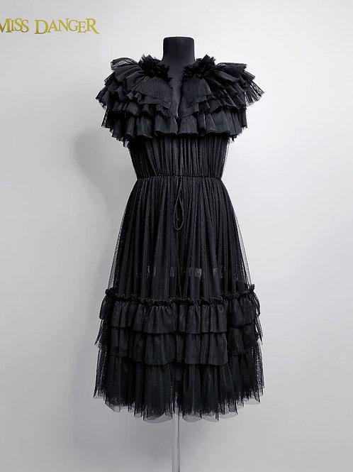 """""""Boudoir"""" overdress  black"""