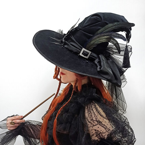 Black Magic witch hat - PRE-ORDER