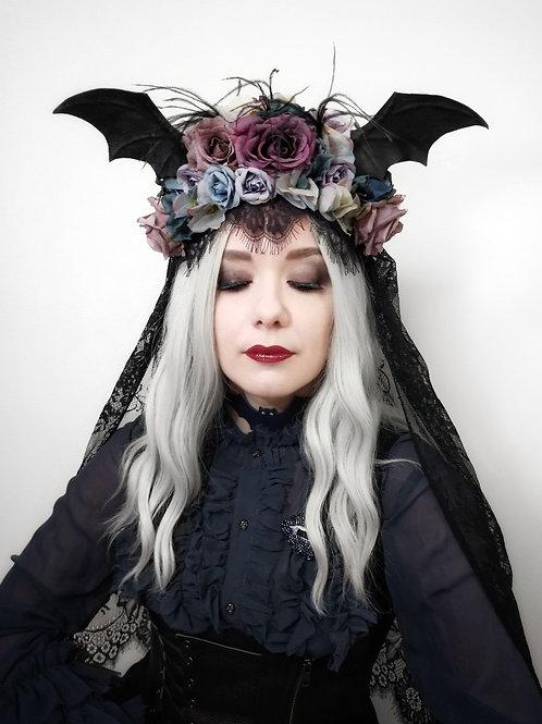 Bat wings Headdress