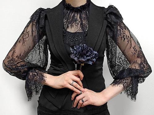 """""""Angélique Noire"""" blouse"""
