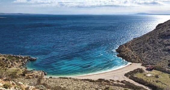 Oprna beach
