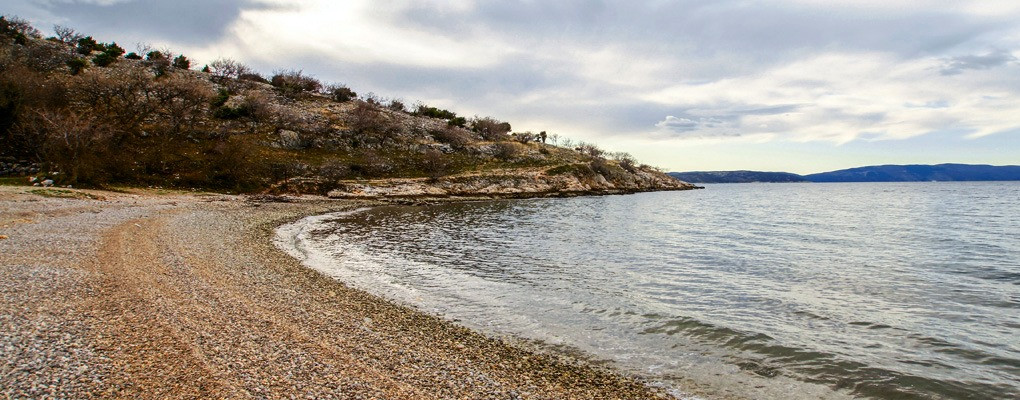 Krk island beaches by taxi boat Punat