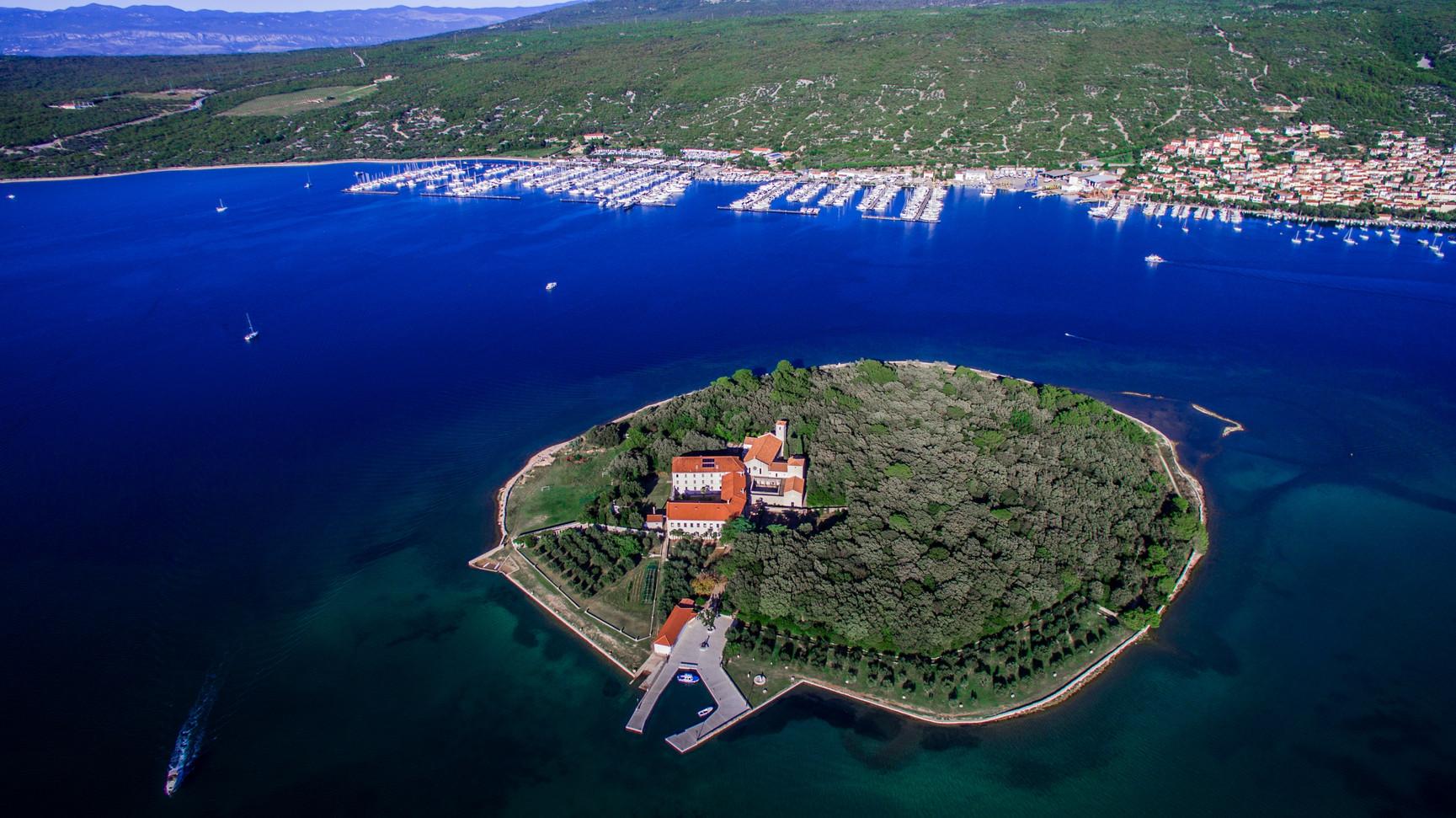 Košljun, monastery island