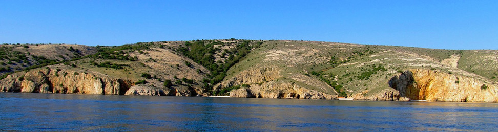 wild bays, Krk island by taxi boat Punat