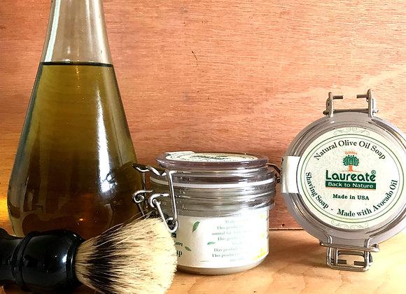 olive oil shaving soap
