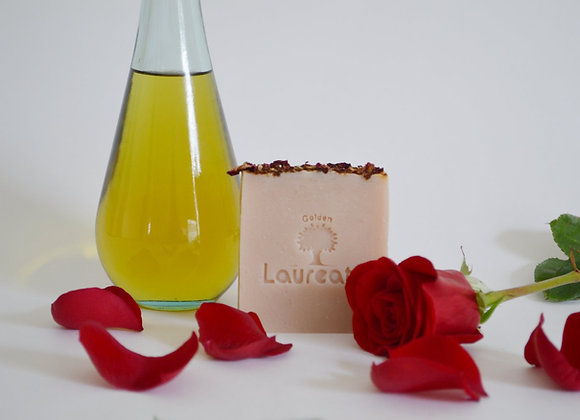 Rose Water Olive Oil Soap