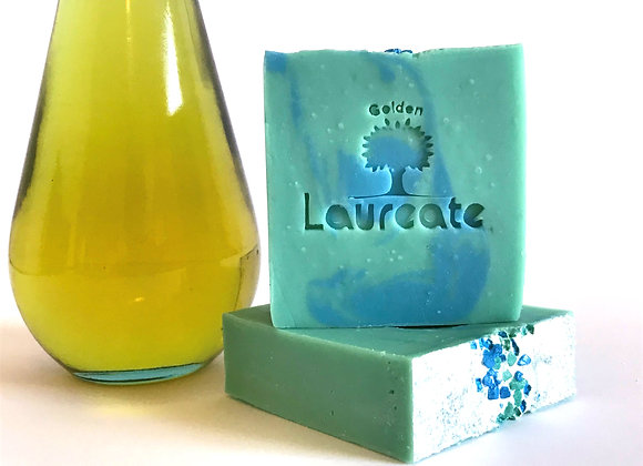 blue soap for him