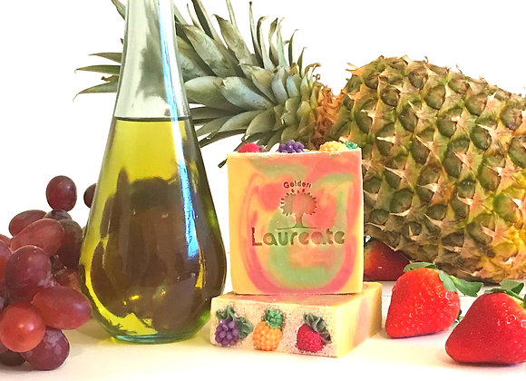 fruits extract olive oil soap