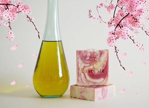 Cherry Oil Silk Olive Oil Soap