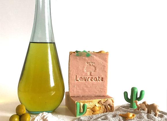 arabic gum pumice sand olive oil soap