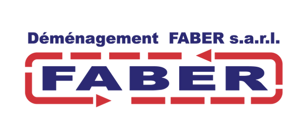 logo demenagement faber
