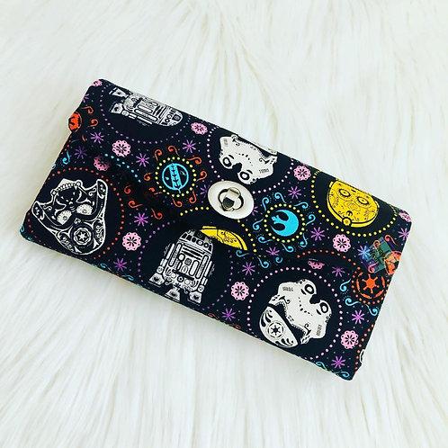 Space Clutch Wallet