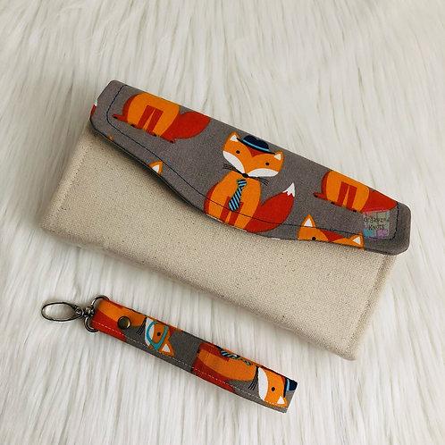 Foxy Clutch Wallet