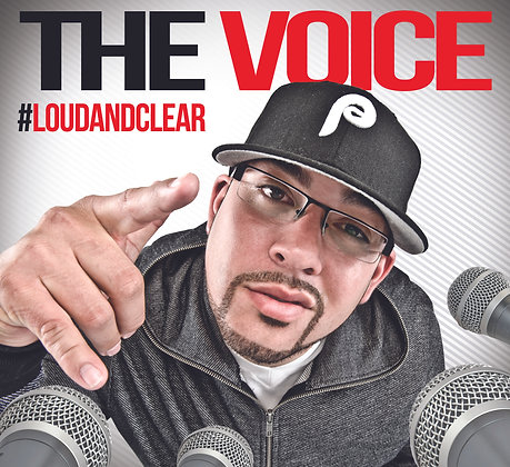 The Voice-  #loudandclear CD