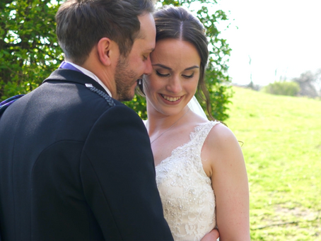 Emma & Lee - Bright Sunshine and Bagpipes