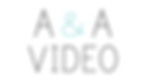A & A Video Wedding Videography Logo