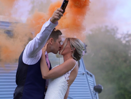 Sam & Tom - Smiles, special guests and smoke bombs!