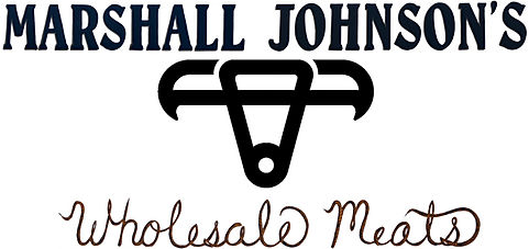 Marshall Johnson's Wholesale Meats Logo