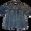 Thumbnail: Womens One Teaspoon Precision Denim Shirt (HFOT-22036)
