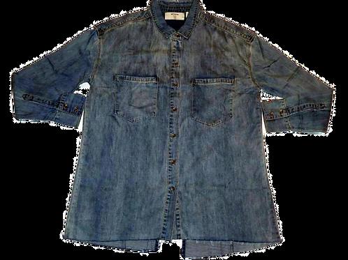 Womens One Teaspoon Precision Denim Shirt (HFOT-22036)