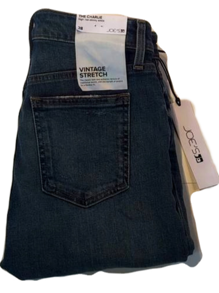 Womens Joe Jeans Charlie Skinny Stretch Btn Fly Cut Hem Jean (HFJOE-O33VLN5748)