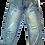 Thumbnail: Mens One Teaspoon Mr Browns Jeans,Low Slung,RelaxLeg,Taper Ankle(HFOT-19222EREG)