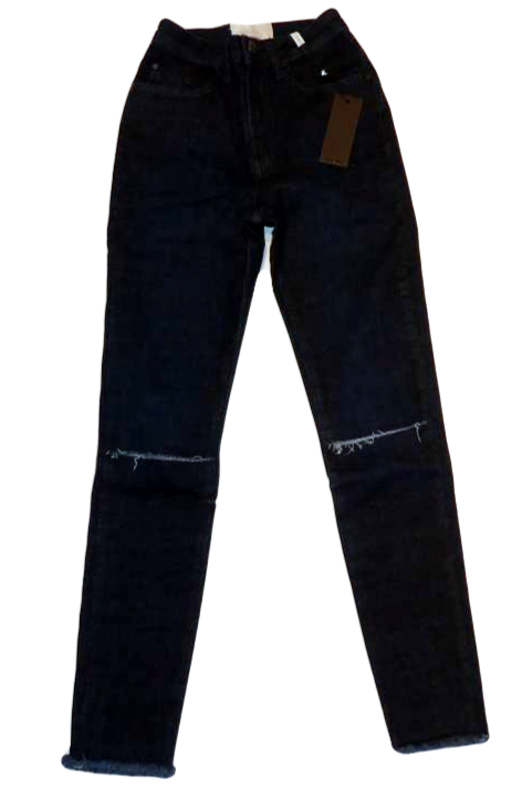 Womens One Teaspoon Super High Waist Freebirds II Stretch Jean (HFOT-21927)