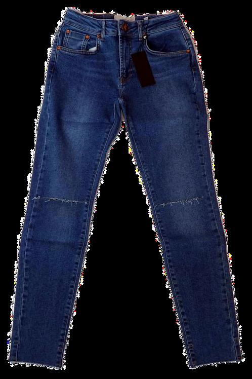 Womens One Teaspoon Freebirds II HW Skinny Jean (HFOT-22598)