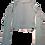 Thumbnail: Womens Koral Utile Rib Gloss Long Sleeve Crop Top (HFKOR-A6438R20)