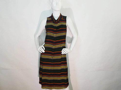 Kavu Womens Brighton Fernwood Sleeveless Button-up Dress (ELAV-KA6051-1140)