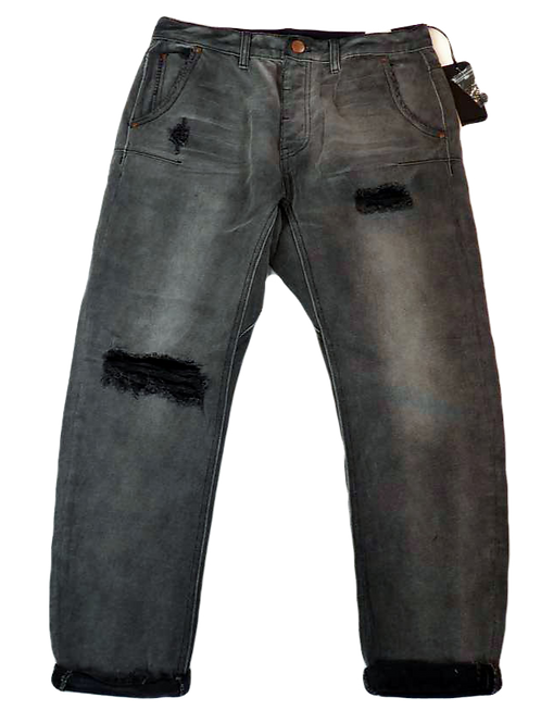 Mens One Teaspoon Mr Golds Jeans,Rigid,Low Slung,Rlxed Fit (HFOT-19631CREG)