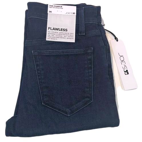 Womens Joe Jeans Charlie Flawless HR Skinny Crop Jean (HFJOE-45TSGSDG5734-SDG)