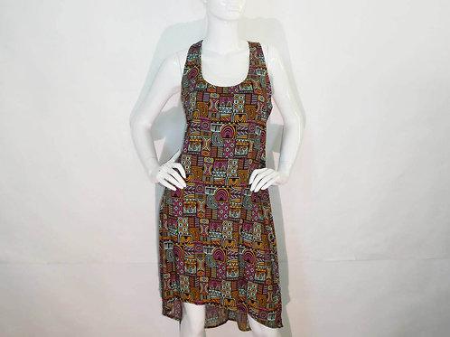 Kavu Womens Jocelyn Glow Vibes Summer Dress (ELAV-KA6013-1214)