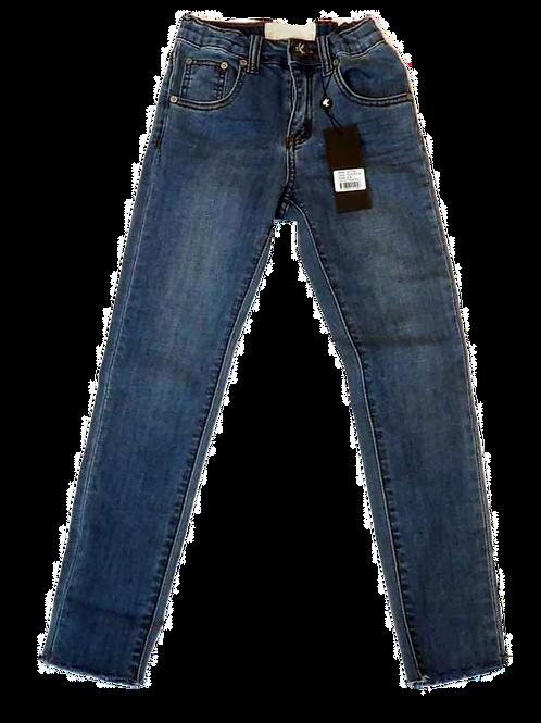 Kids One Teaspoon High Waist Freebirds II Stretch Jeans (HFOT-21778)