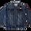 Thumbnail: Kids One Teaspoon Stripe All Star Denim Jacket (HFOT-21852)