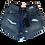 Thumbnail: Womens One Teaspoon HW Bandit Shorts (HFOT-23934)
