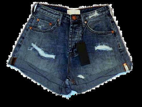 Womens One Teaspoon HW Bandit Shorts (HFOT-23934)