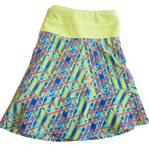 Tasc Performance Womens Rhythm Tennis Skirt Print (ELAV-TW425P)