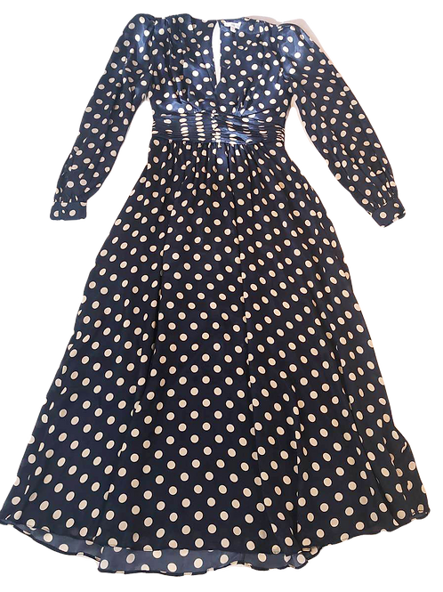 Womens Ronny Kobo Maria Polka-Dot Dress (HFRK-9681457DPR)