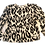 Thumbnail: Womens Ronny Kobo Yael Leopard Print Blouse (HFRK-972821PLJ)